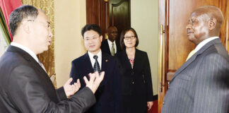 China Uganda fight against COVID-19