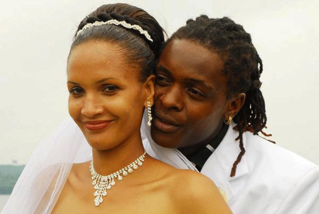 Daniella atim wedding with Chameleone
