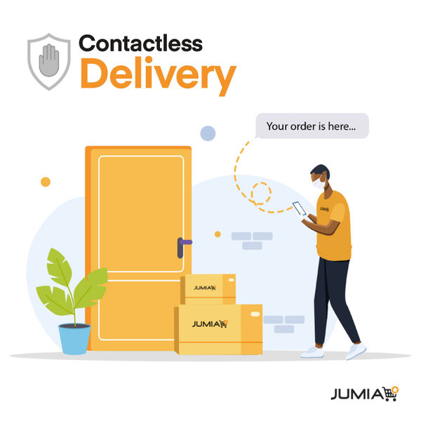 Jumia launches Contactless Delivery
