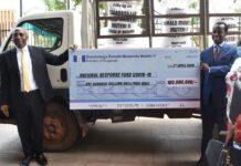 Kabaka of Buganda donates COVID-19
