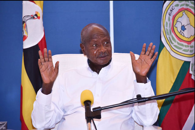 Museveni warns traders hoarding food