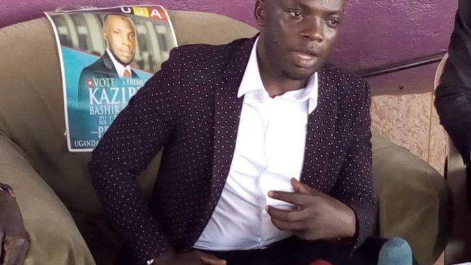 Kazibwe Bashir Mbaziira is the president of Uganda Journalist Association