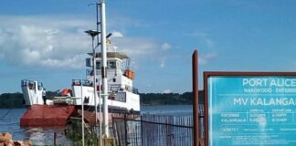 MV Kalangala quarantined