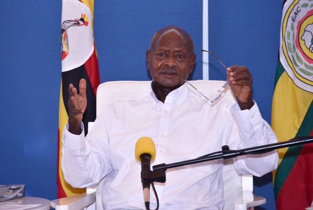 Museveni Okays Use of Homemade Masks