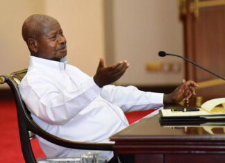 Museveni imposed coronavirus lockdown