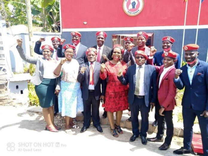 Bobi Wine Unveils 11 Electoral Commission