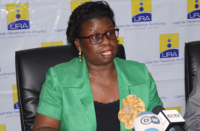 Doris Akol Commissioner General for URA