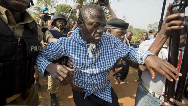 Besigye arrested for a fourth time