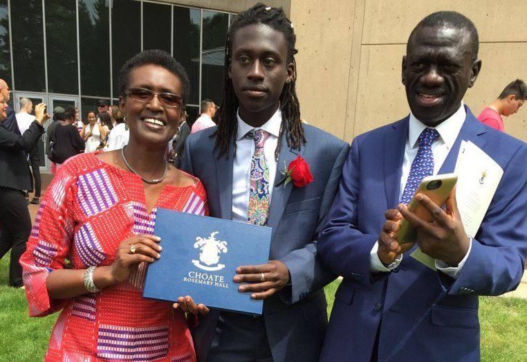 Besigye son Anselm Kizza Besigye