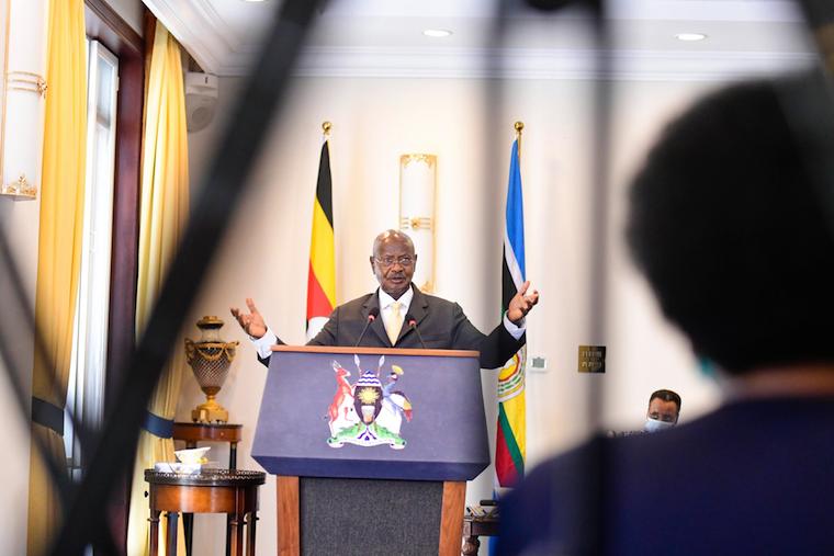 Museveni covid-19 deaths in uganda
