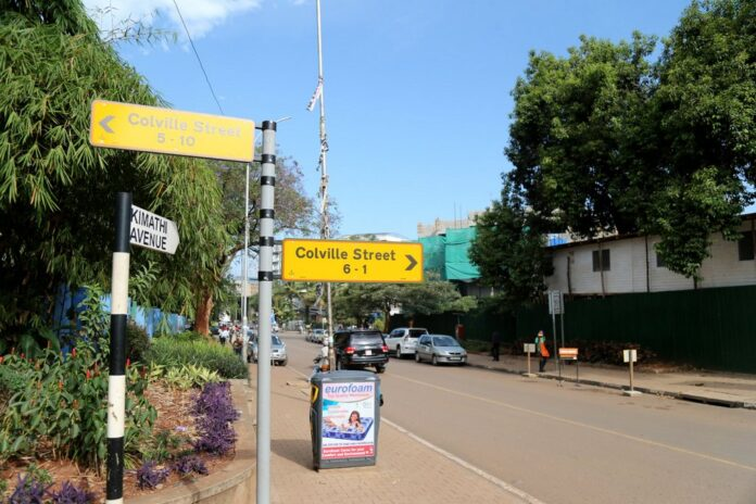 Museveni to change names of colonial streets.