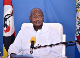 Museveni opens transport and shopping malls