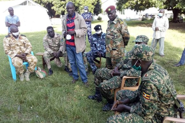 UPDF Kills Four South Sudan soldiers