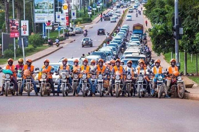 SOPs to Be Followed by Boda Boda Riders