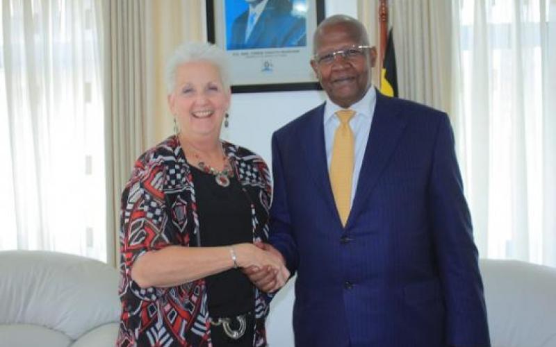 Kutesa meets U.S. Ambassador to Uganda