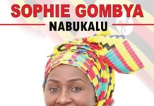 Sophie Gombya for Lord Woman Councilor