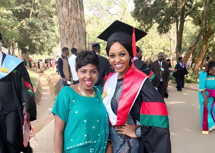 Spice Diana joined Makerere University