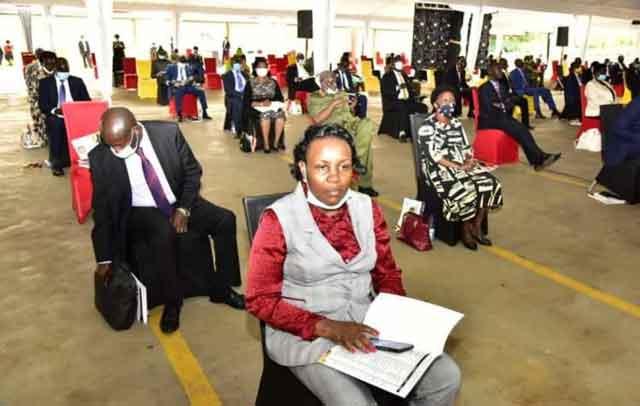 Ugandan LegislatorsTested for COVID-19