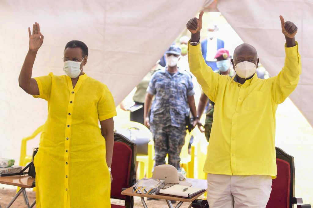 museveni tests negative for coronavirus