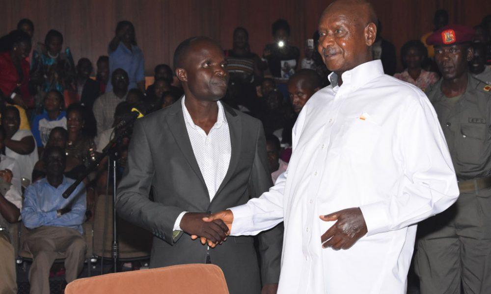 Mayinja meets Museveni