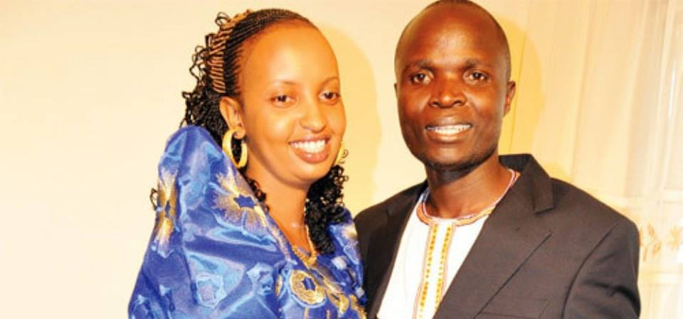 ronald Mayinja met his wife Aisha Nakyeyune