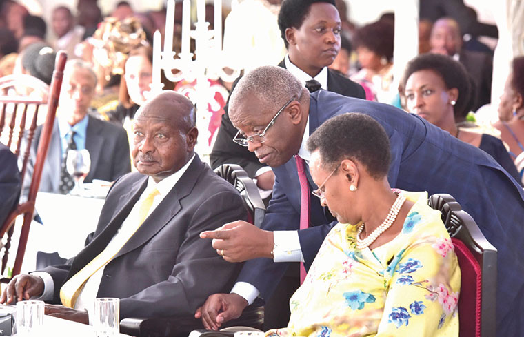 Amama-Mbabazi-was appointed the 9th Prime Minister-Museveni