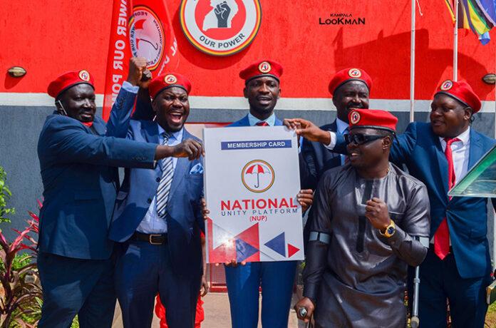 Bobi Wine Welcomes MP Zaake to NUP Party