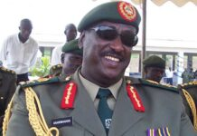 Gen Salim Saleh is retired Ugandan
