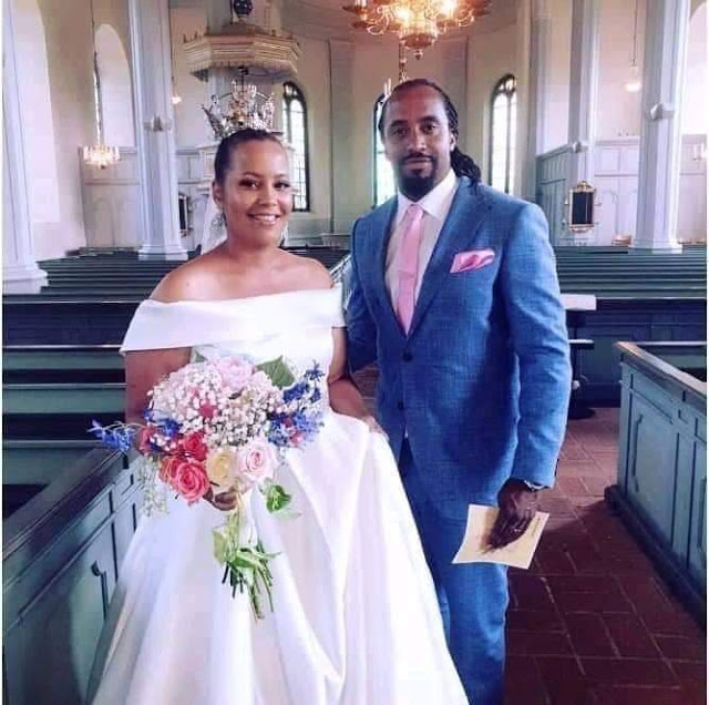Navio weds wife Mathilda