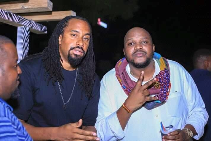 Navio with his Klear Kut The Mith.