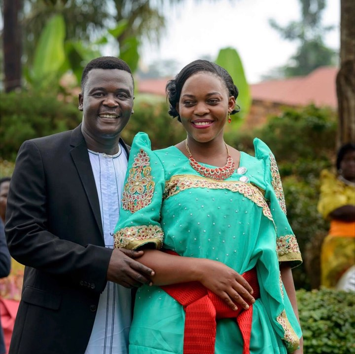 Henry Tigan and wife Sharon Nakato twins