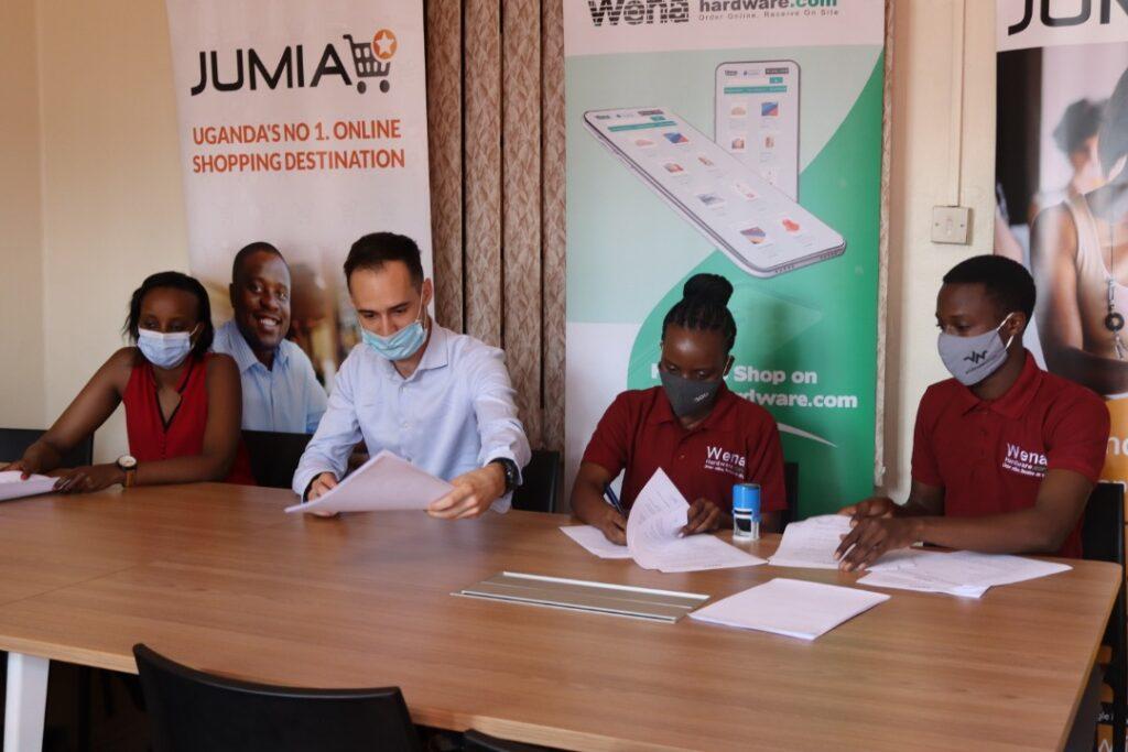 Wena Hardware and Jumia Uganda