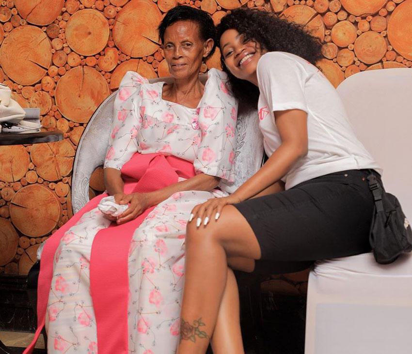 Edith Kabazungu Sheebah mother