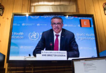 WHO Chief Tedros on lifting lockdowns