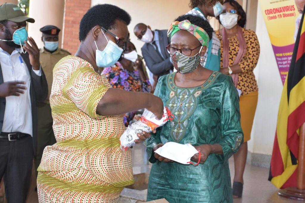 masks districts of Kitgum and Lamwo
