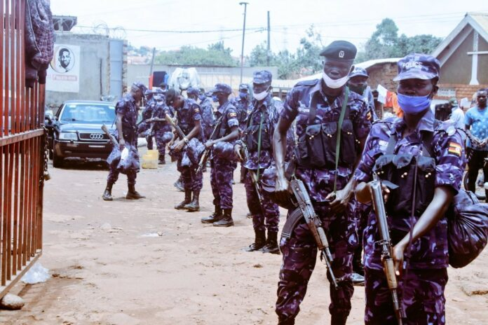 detained wearing of military attires