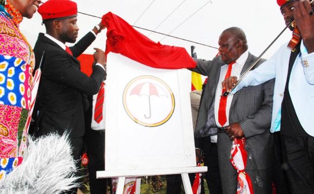 moses kibalama nkonge Bobi Wine unveil NUP