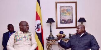 museveni agreement build roads congo