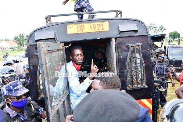 bobi wine arrested luuka district