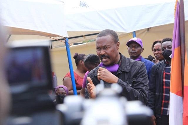mugisha muntu suspends campaigns