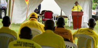 lumumba nrm decision hold small gatherings