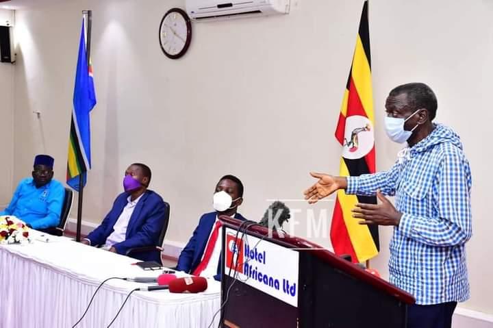 Uganda Opposition Candidates Meet on elections Hotel Africana