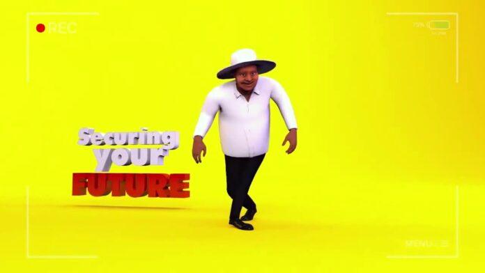 Jerusalema Challenge with Museveni