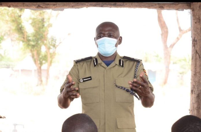 Uganda Police take community outreach to refugee settlement camps