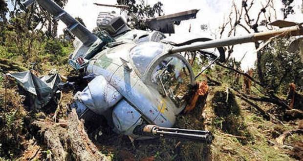 Updf Amisom Chopper Crashes in Somalia
