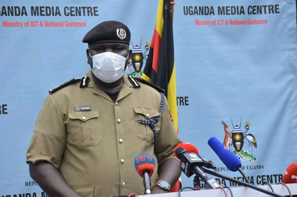 fred enanga uganda police spokesperson