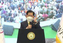 Chairman Man Hee Lee of HWPL