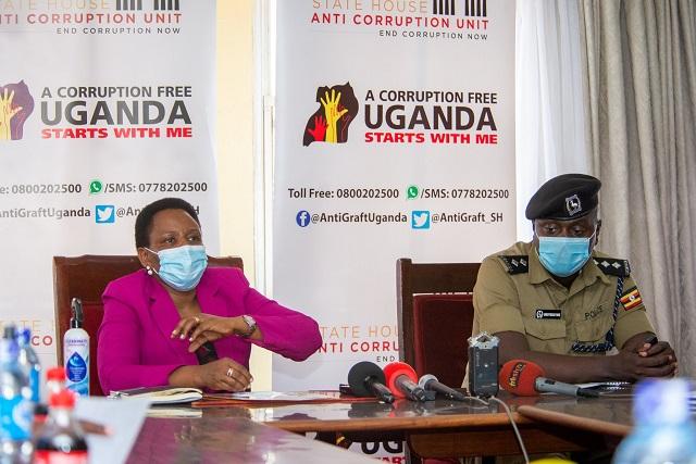 nakalema State House Anti-Corruption Unit Arrests