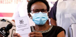 import covid-19 vaccines uganda