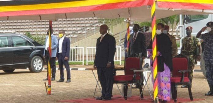 Museveni Gives Late Archbishop Lwanga